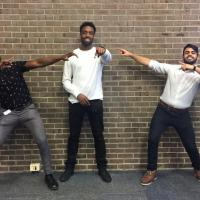 ITI 210 Students Norris Brown, Devone Bennett, Karnveer Manhani getting into the spirit of the day!