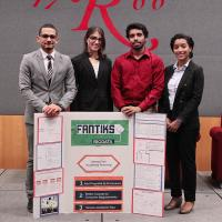 Judges Choice winner Fantiks - Team members: Ivanok Tavarez, Natasha Griffith, Mohammed Kyes, Alison Melendez