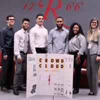 Judges Choice winner CrowdCloud: Team members: Kory Davis, Angel Cabrera,  Edon Perezic,  Jared Johnson,  Jasmine Andrews, Courtney Beard