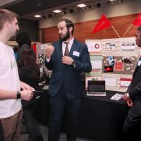 Matthew Abdelsayed, Jameel Bangura, Nahid Huq pitch their UDorm project