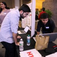 ITI Students get their prototype working at Fall 2017 Showcase